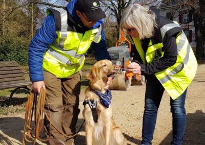 Ausbildung für Personenspürhunde